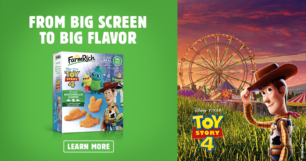 Disney Toy Story 4 Mozzarella Shapes